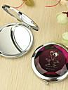 Personalizada patrón del regalo del amante Chrome Espejo compacto