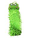 Adorável Toalha Sapo dos desenhos animados de limpeza de microfibra
