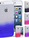 Hard Case Transparent Motif Special Design Eau-Baisse pour iPhone 5/5S