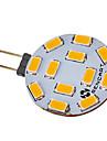5W G4 Точечное LED освещение 12 SMD 5730 300-320 lm Тёплый белый / Холодный белый DC 12 / AC 12 V
