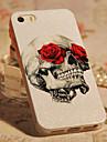 Pour Coque iPhone 5 Motif Coque Coque Arrière Coque Crâne Dur Polycarbonate iPhone SE/5s/5