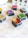 6 piezas de colores de madera Set sello