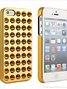Placage de couverture de cas pour l'iPhone 5/5S Rivet (couleurs assorties)