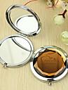 Εξατομικευμένη δώρων καρδιά μοτίβο Chrome Compact Mirror