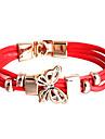 PU Wrap Bracelet Multilayer Fashion Butterfly Bracelet