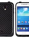 Ultra-Thin à prova de água à prova de choque Dirtproof Snowproof protetora para Samsung Galaxy S4 - Preto