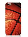 Case Retour motif de basket-ball Vivid cadre transparent pour iPhone 5/5S
