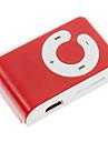 TF Leitor de MP3 Player com Clipe Bag Red & White