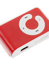 TF Card Reader MP3-плеер сумка с зажимом Red & White
