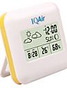 Комнатный цифровой термометр, гигрометр с индикатором погодных условий