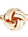 Alliage d'or Twisted anneau réglable