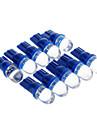 T10 Automatique Bleu Feux stop Lampe de portière Lumières pour tableau de bord Lampe de lecture Feux de position latéraux