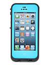 Frais 2m de protection hermétique dur étanche du corps de cas complète pour iPhone 5 (couleurs assorties)