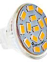 5W G4 Точечное LED освещение MR11 15 SMD 5730 310-320 lm Тёплый белый DC 12 V