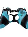 Защитный силиконовый чехол для джойстика Xbox 360 (синий)