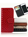 Snakeskin Grain Leather Case for iPhone 4/4S (Assorted Colors)