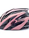 ЛУНА Велоспорт черно-розовый PC / EPS 21 Вентс Защитный Поездка шлем