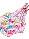 Coton de mode sanitaire mignon pantalon pour les chiens avec des bretelles (couleur aléatoire)