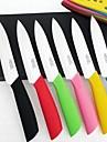 """5 """"фрукты растительное керамический нож с ножнами"""