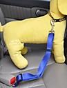 Собаки Собачья упряжка для использования в авто/Собачья упряжка для безопасности Регулируется/Выдвижной / Безопасность ТвердыйКрасный /