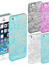 Светящиеся в Темная шелковая шаблон жесткий чехол для iPhone 5/5S (разных цветов)