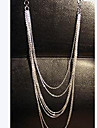 European Multilayer Tassel Necklace