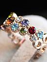 Многоцветный Изысканный кольцо