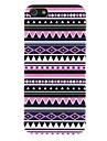Футляр Этническая Фиолетовый Геометрический узор ПК для iPhone 5/5S