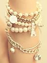 perle d'imitation blanche bracelet wrap eiffel de Fahion des femmes (1 pc)