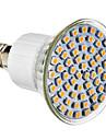 4W E14 LED 스팟 조명 60 SMD 3528 300 lm 내추럴 화이트 AC 220-240 V