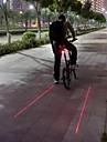 Велосипедные фары / Задняя подсветка на велосипед Laser / LED Велоспорт Водонепроницаемый / ударный корпус / Осторожно! Люмен Батарея