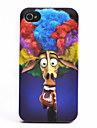 The Explosion Giraffe Pattern ABS Back Case for iPhone 4/4S