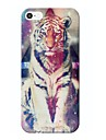 Tiger Star Pattern Hard Case for iPhone 4/4S