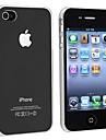 ultra-mince affaire tranparent en plastique pour iPhone 4 / 4S