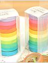 ταινία πολύχρωμο σχεδιασμό ουράνιο τόξο (10 τμχ)