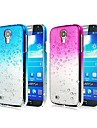 Waterdrop Gradient Color Transparent PC Hard Case for Samsung Galaxy S4 Mini I9190