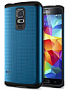 Для Кейс для  Samsung Galaxy Защита от удара Кейс для Задняя крышка Кейс для Армированный PC Samsung S5