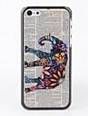 Газета со слоном чехол для iPhone 5C