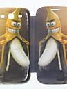 de banana homem de couro caso de corpo inteiro para samsung i9300 s3