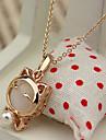 Симпатичные Lucky Cat ожерелье