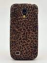 Mini Pattern Leopard Soft Case Back Cover TPU para Samsung Galaxy S4 Mini I9190