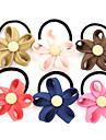 Doux style de fleur cravates de cheveux