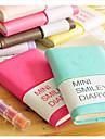 μίνι πρόσωπο χαμόγελο πολύχρωμο ημερολόγιο σημειωματάριο (τυχαία χρώμα)