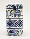 Pour Etuis coque Motif Coque Arrière Coque Eléphant PUT pour Samsung Galaxy S4 Mini
