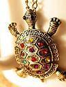 Ожерелье Ожерелья с подвесками Бижутерия Для вечеринок / Повседневные Модно Сплав Бронза 1шт Подарок