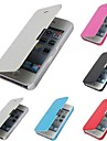 cuir PU&Housse pc pour iPhone 4 / 4S (couleurs assorties)