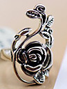 Statement Rings Alloy Flower Vintage Victorian Carved Jewelry Party Daily