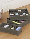 Коробки для хранения Текстиль с 1 Boxes , Особенность является Открытые , Для Бельё