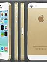 золото в твердом переплете назад протектор экрана для iPhone 5 / 5s
