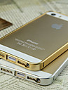 Coque Ultra-Fine pour iPhone 5/5S, Motif Métal Brossé (Autres Coloris Disponibles)